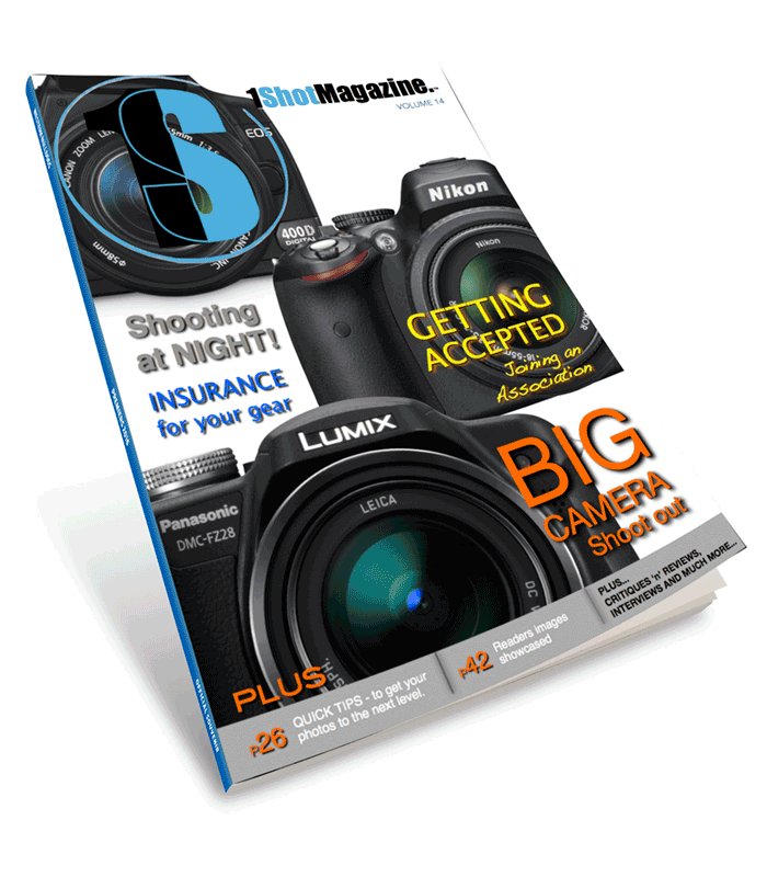 One Shot Magazine - Issue 14 - Your free online digital photography magazine